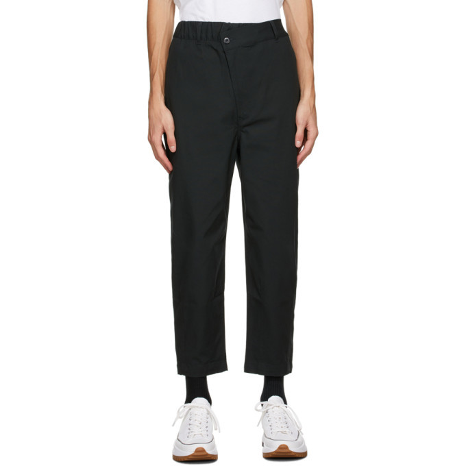 Photo: Converse Black Shapes Triangle-Front Trousers