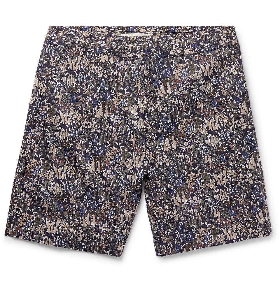 Photo: Norse Projects - Liberty Luther Printed Cotton Shorts - Multi