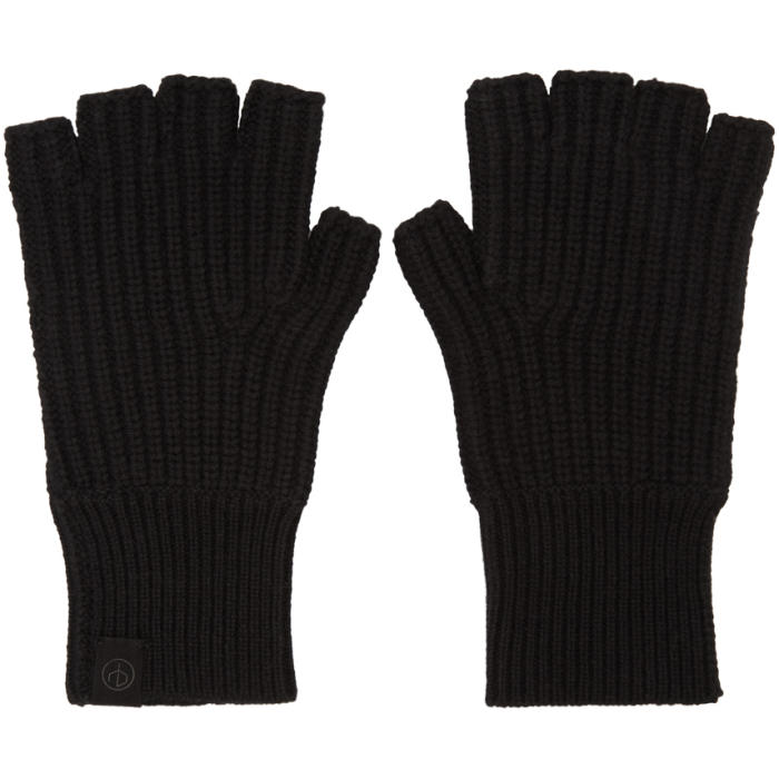 Photo: Rag and Bone Black Cashmere Ace Gloves
