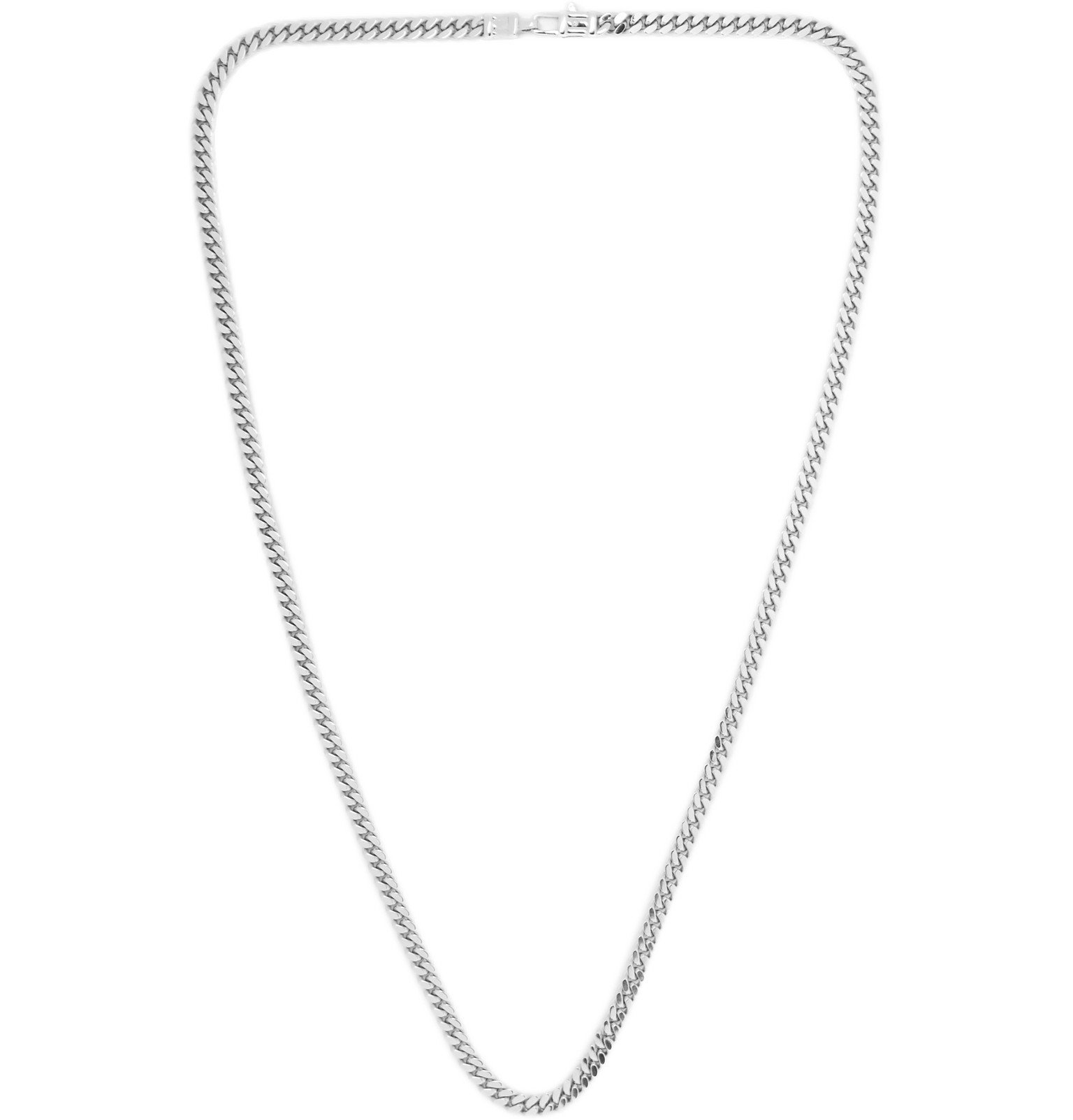 Photo: Tom Wood - Sterling Silver Necklace - Silver