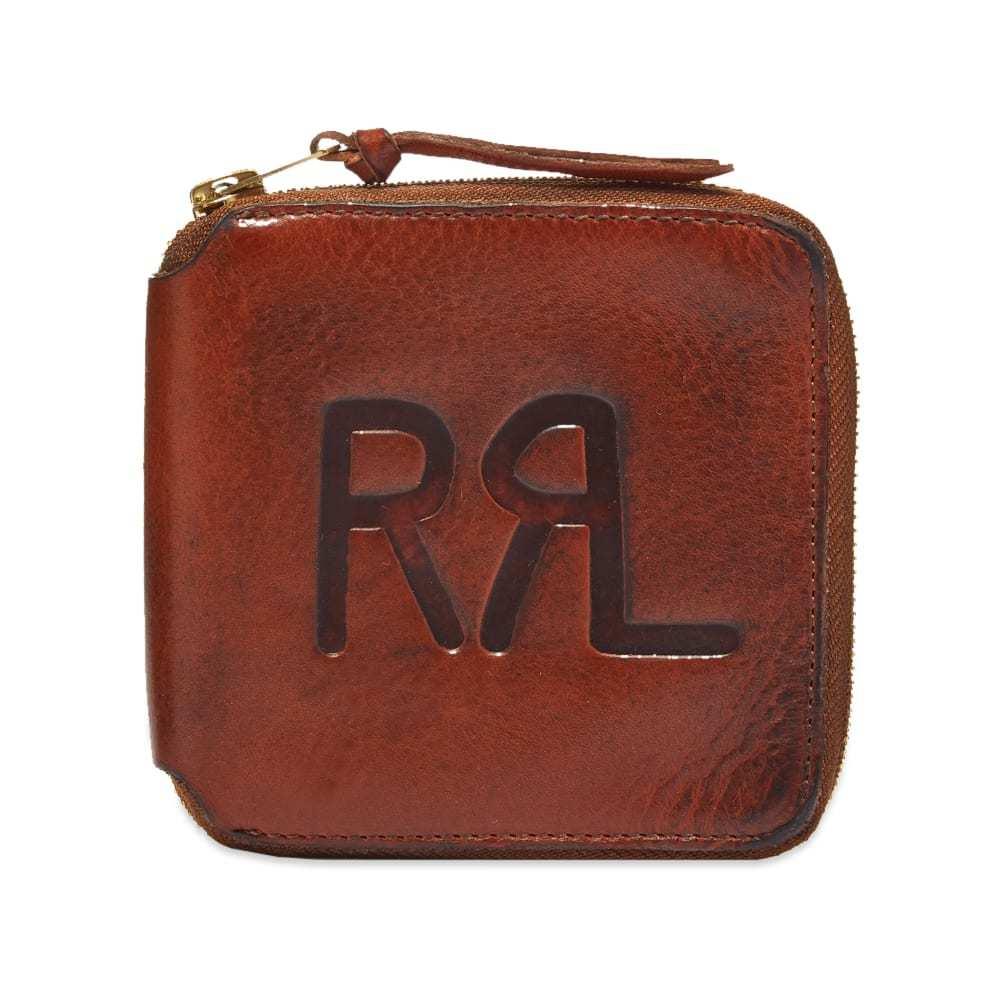 Photo: RRL Zip Logo Wallet