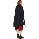 Sacai Navy Oxford Coat