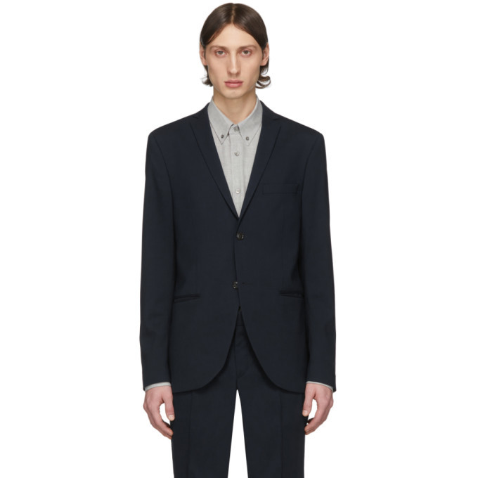 Photo: Tiger of Sweden Navy Wool Jile Blazer