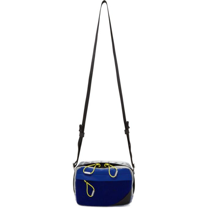 Photo: Acne Studios Bla Konst Blue Small Hidey Camera Bag