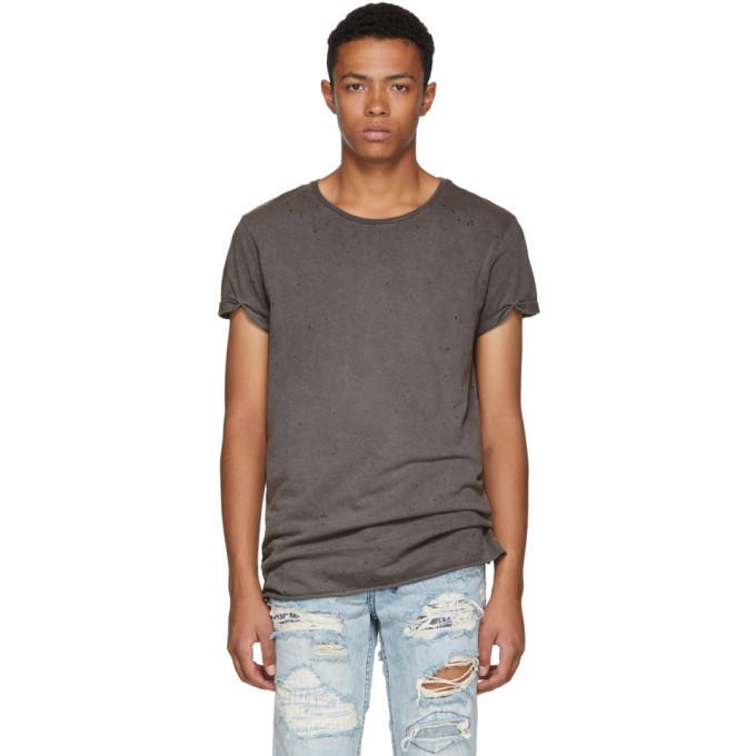 Ksubi Grey Kodeine T-Shirt
