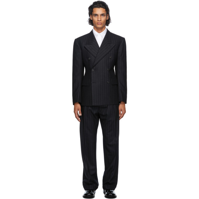 Photo: Maison Margiela Black Wool Suit