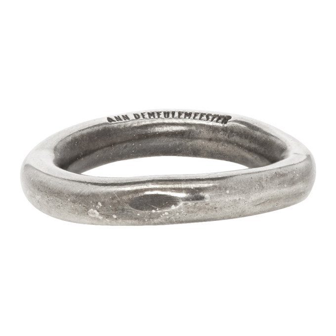 Photo: Ann Demeulemeester Silver Simple Ring