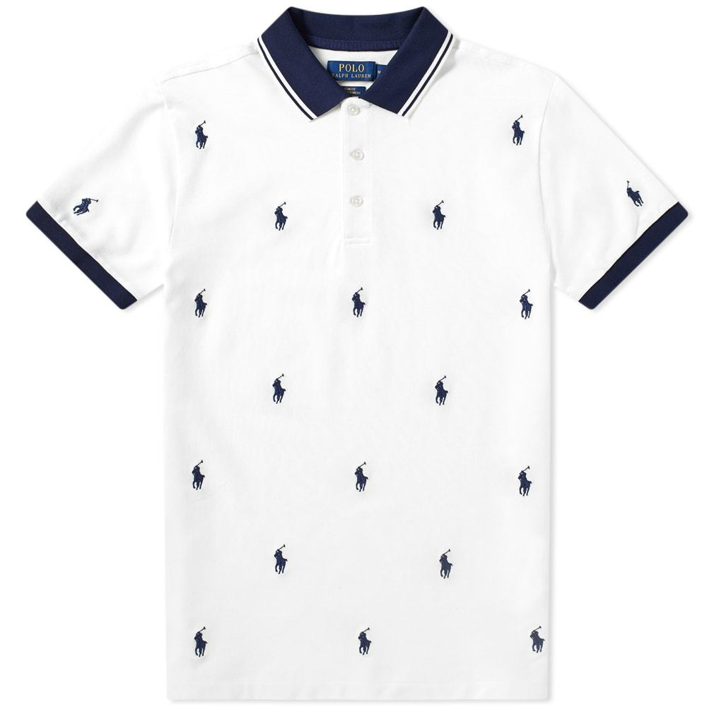 Photo: Polo Ralph Lauren All Over Embroidered Polo