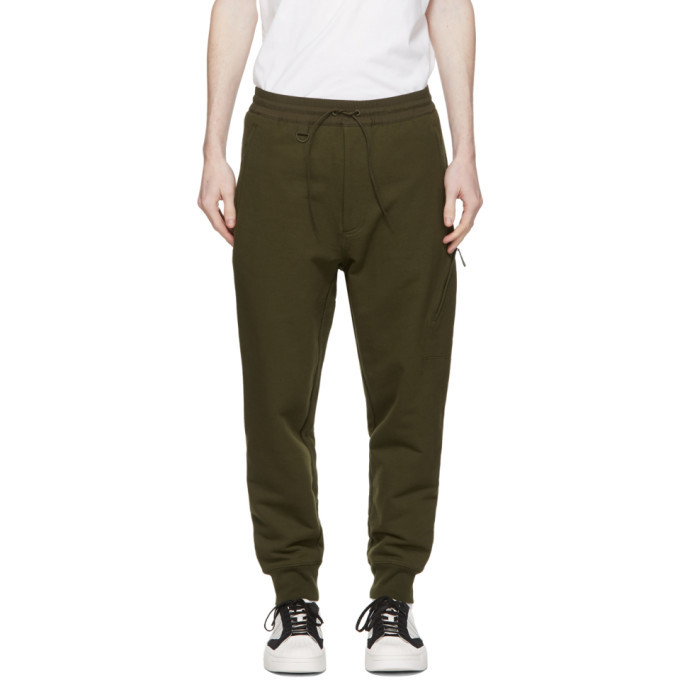 Photo: Y-3 Khaki Cuffed Lounge Pants