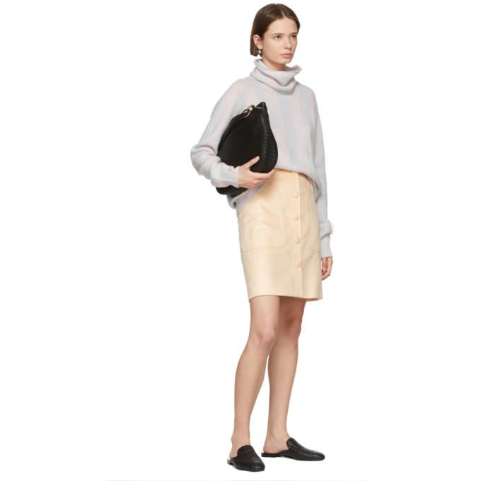 Bottega Veneta Tan Fustian Skirt