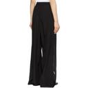 Max Mara Black Silk Boheme Trousers