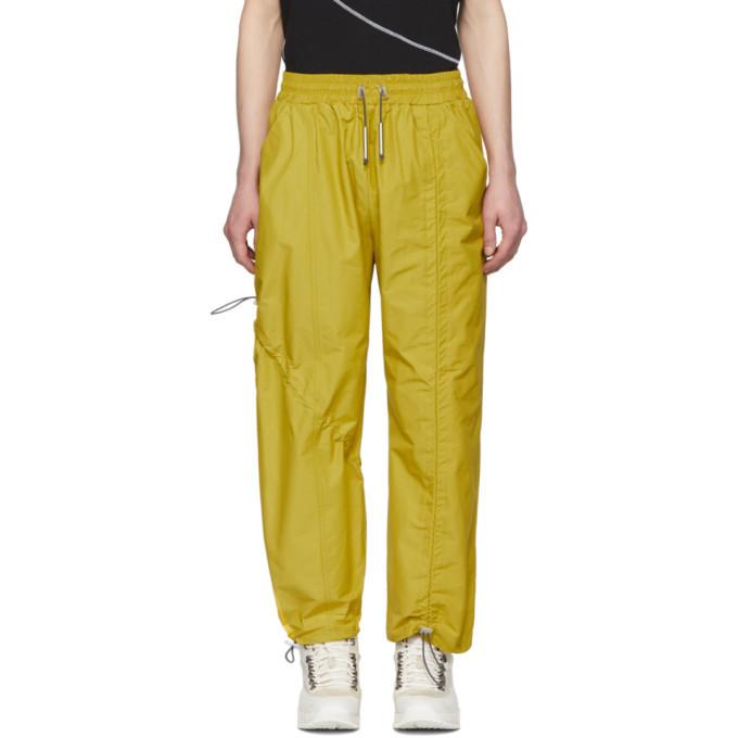 Photo: A-Cold-Wall* Yellow Diagonal Tie Lounge Pants