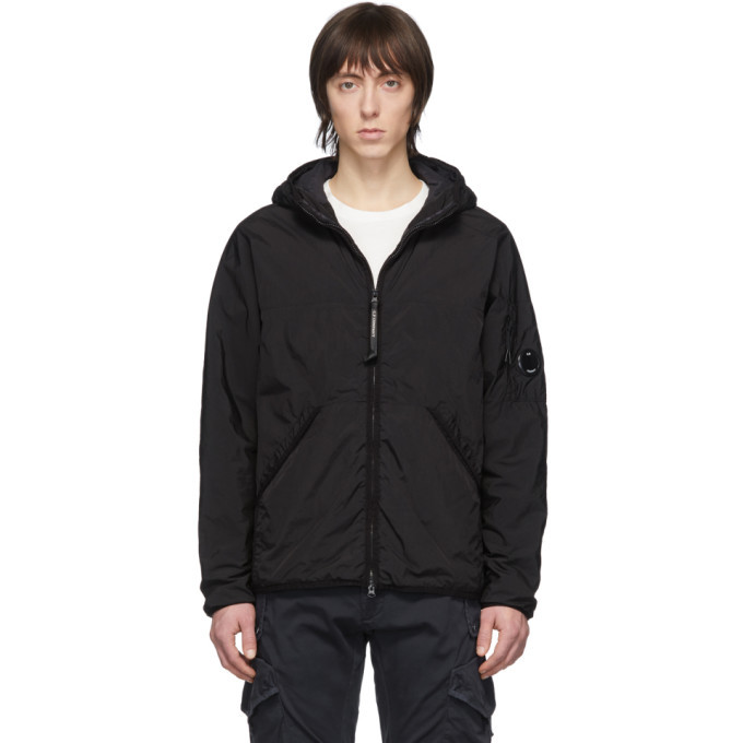Photo: C.P. Company Black CR-L Medium Hooded Jacket