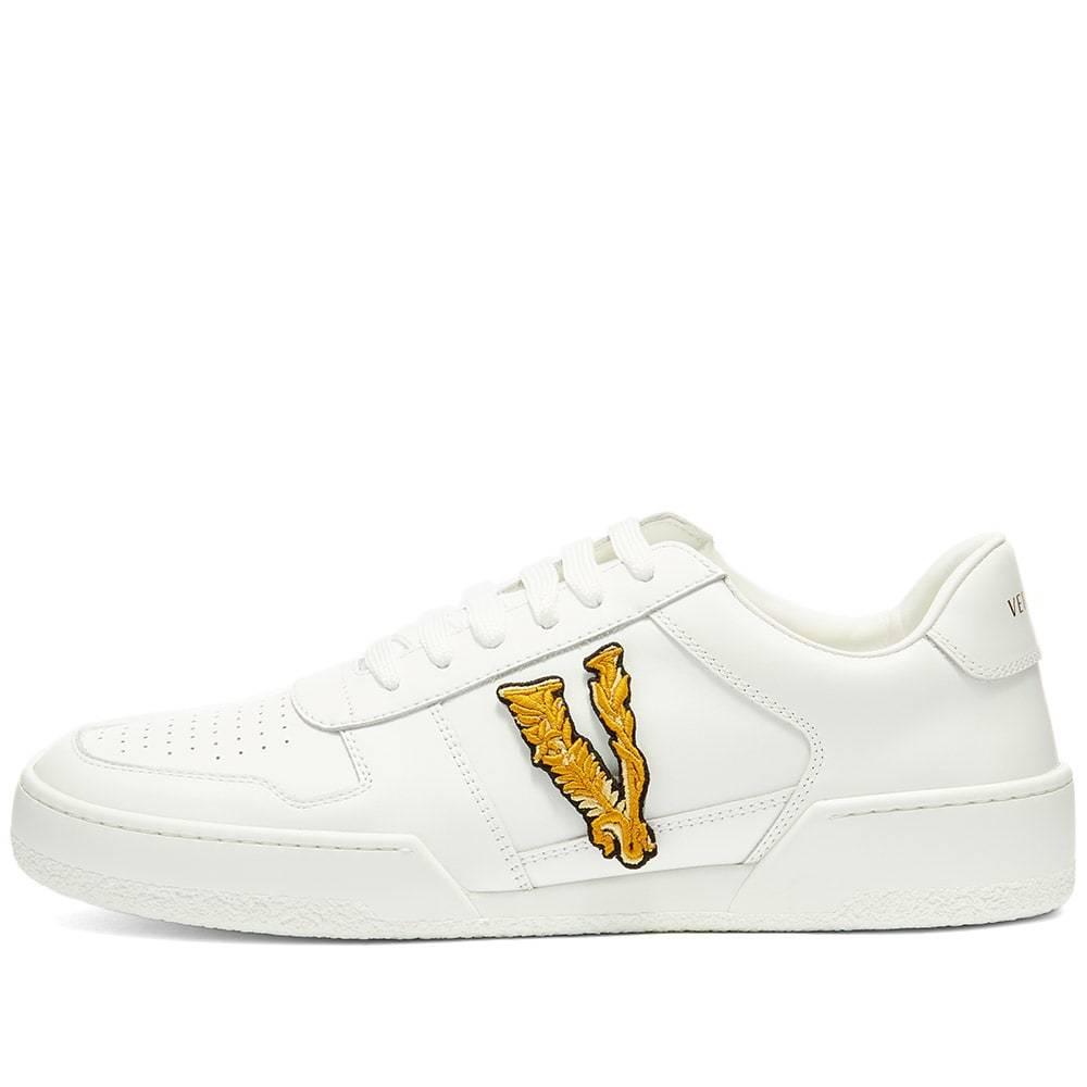 Versace Applique Tennis Sneaker