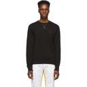 Acne Studios Black Fynn Sweatshirt