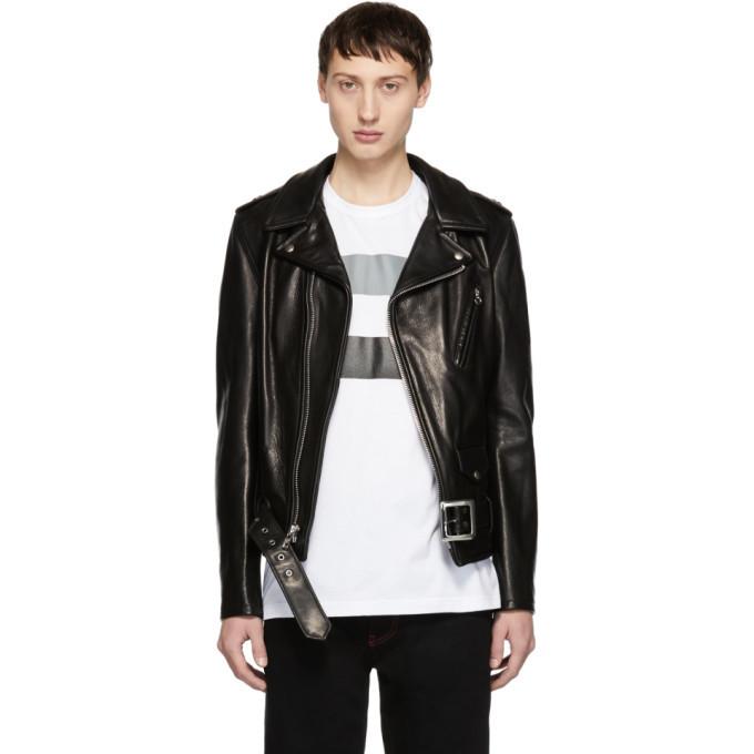 Photo: Schott Black Leather 50s Perfecto Jacket