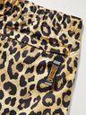 KAPITAL - Wide-Leg Leopard-Print Poplin Shorts - Animal print