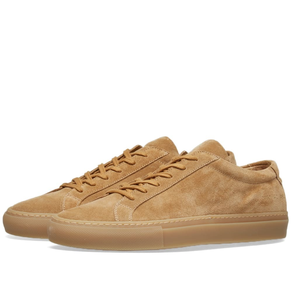 Photo: Common Projects Original Achilles Low Suede Brown
