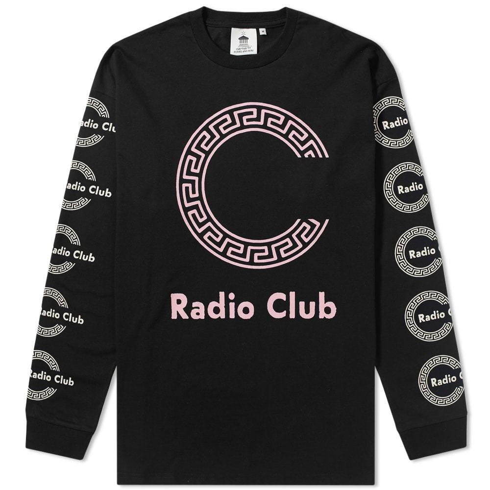 Photo: Carhartt x P.A.M. Long Sleeve Radio Club Roma Tee
