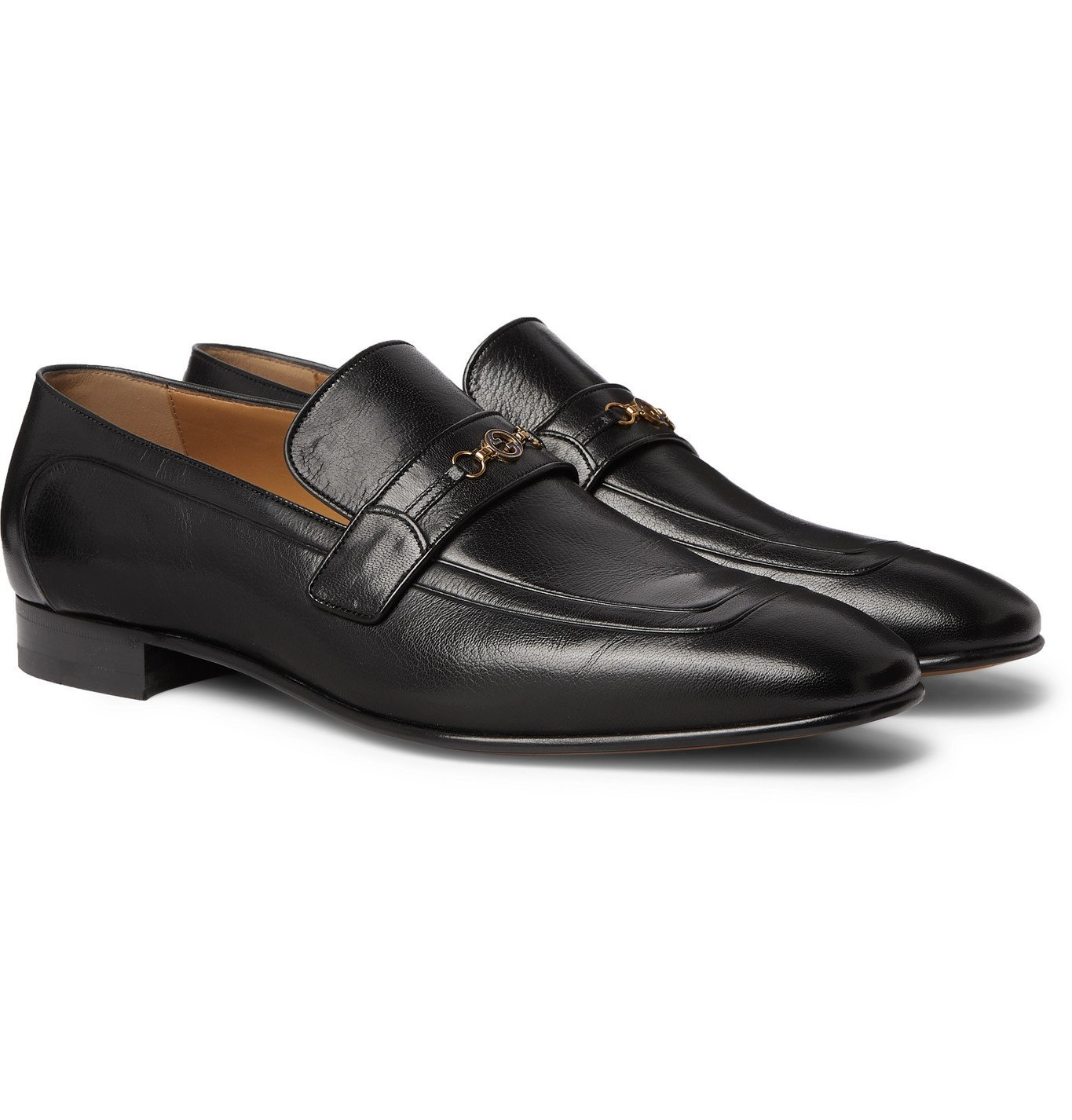 Photo: Gucci - Horsebit Leather Loafers - Black
