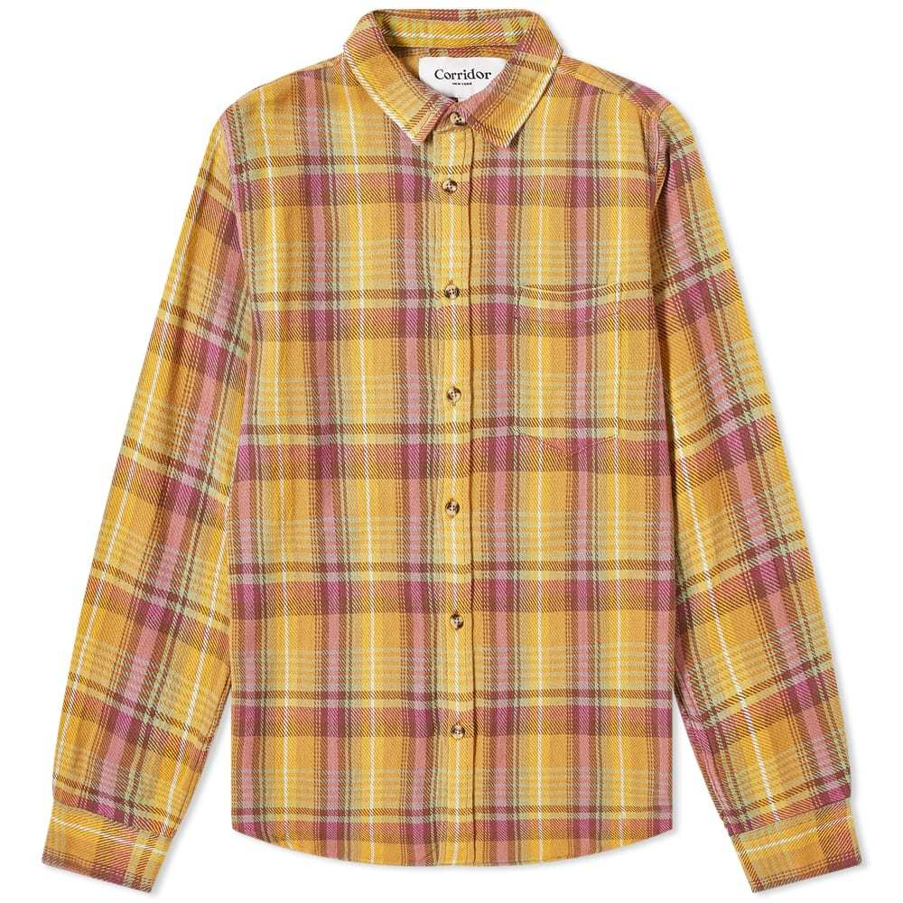 Photo: Corridor Vibrant Flannel Shirt