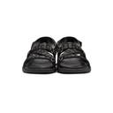Stella McCartney Black Logo Strap Sandals