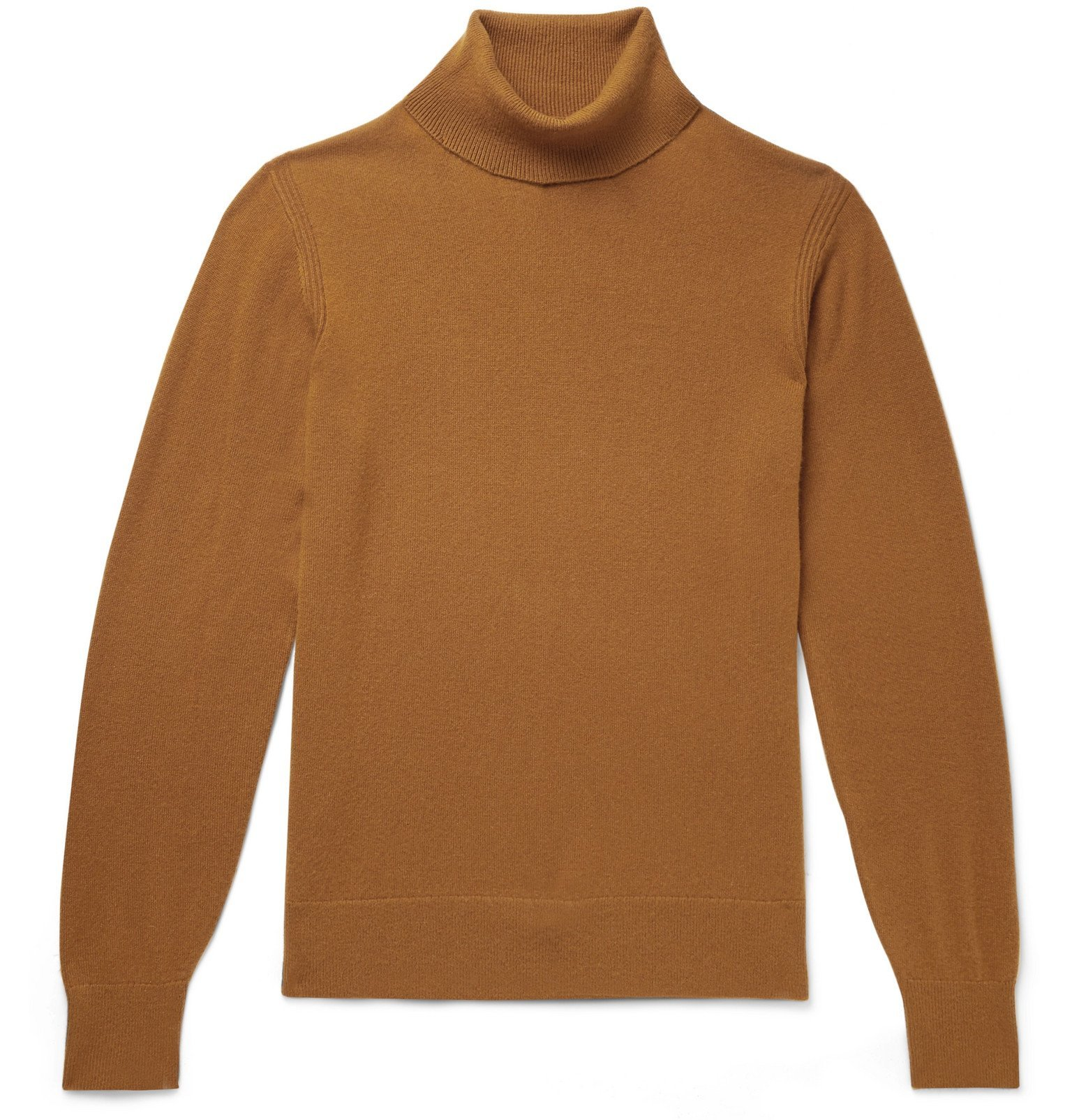 Photo: Todd Snyder - Slim-Fit Cashmere Rollneck Sweater - Brown