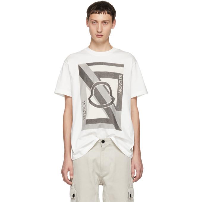 Photo: Moncler Genius 5 Moncler Craig Green White T-Shirt