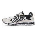 Asics White and Black Gel-Kayano 5 360 Sneakers