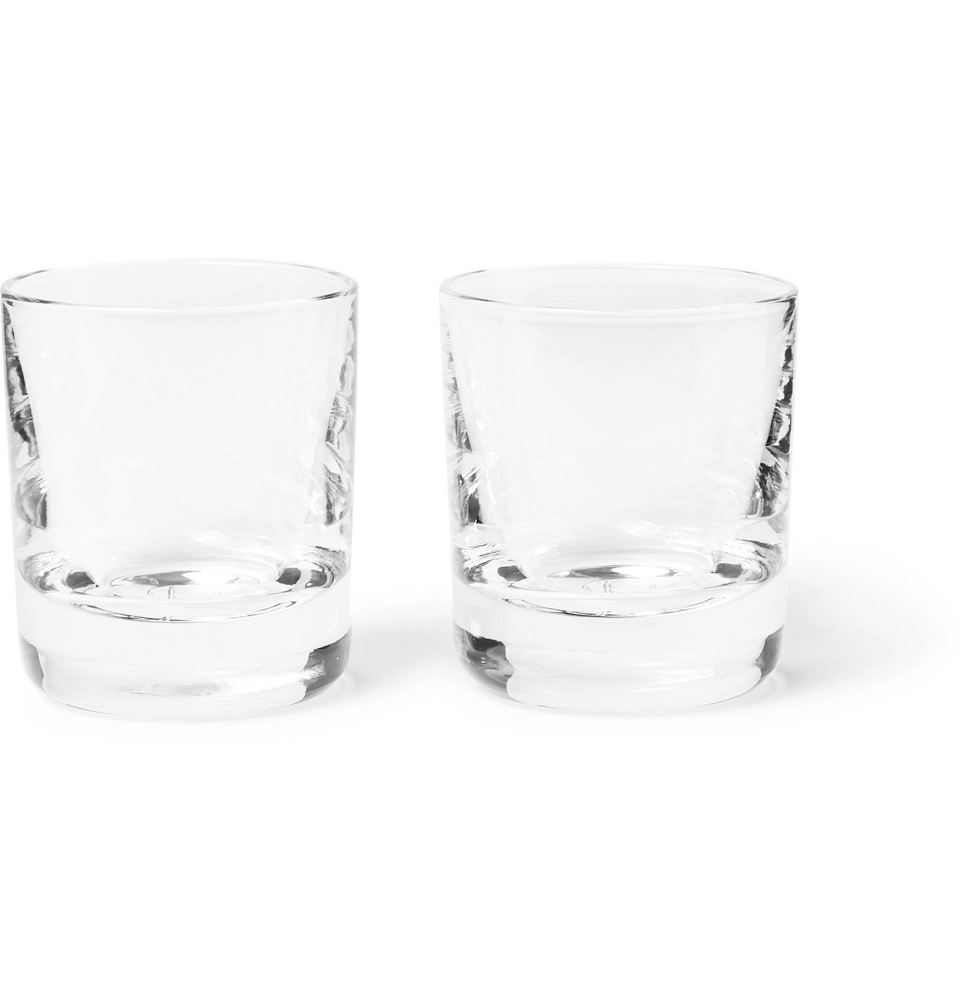 Photo: Kingsman - Higgs & Crick Set of Two Crystal Shot Glasses - Neutrals