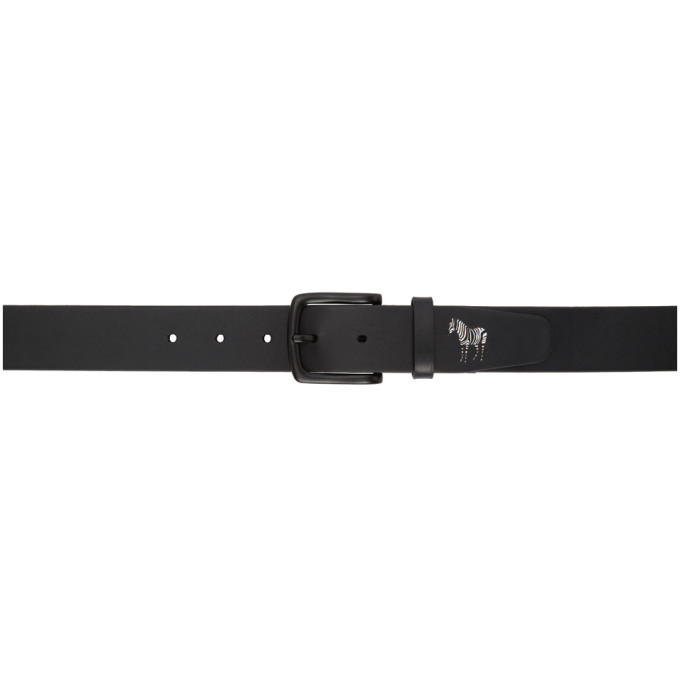 Photo: PS by Paul Smith Black Zebra Belt