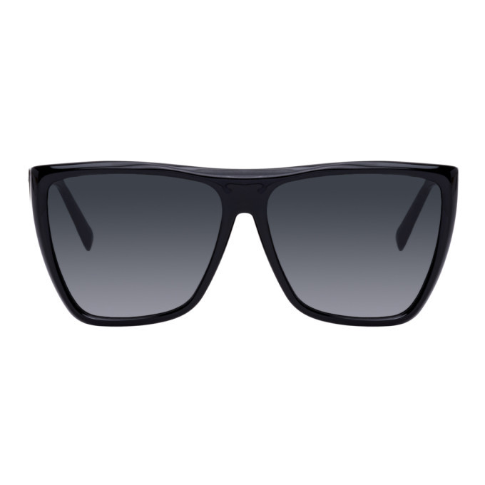 Photo: Givenchy Black Flat Top Sunglasses