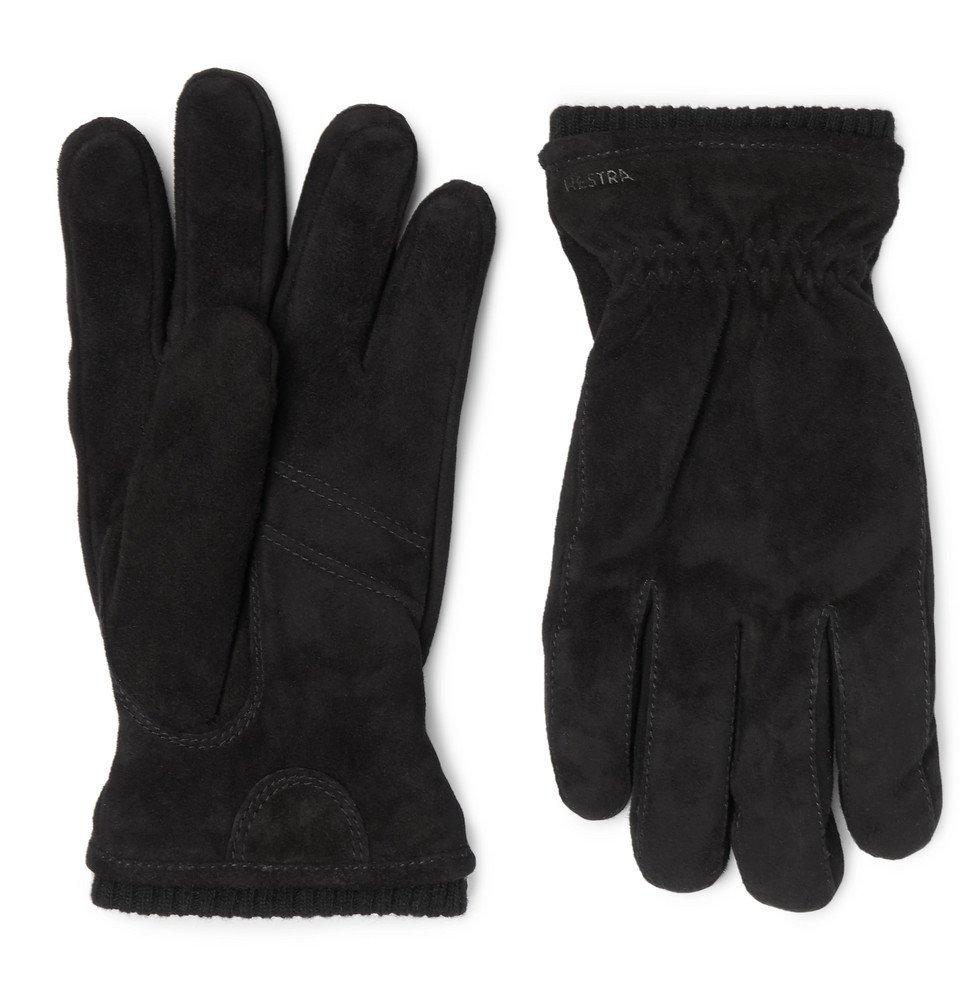 Photo: Hestra - Nathan Suede Gloves - Men - Black