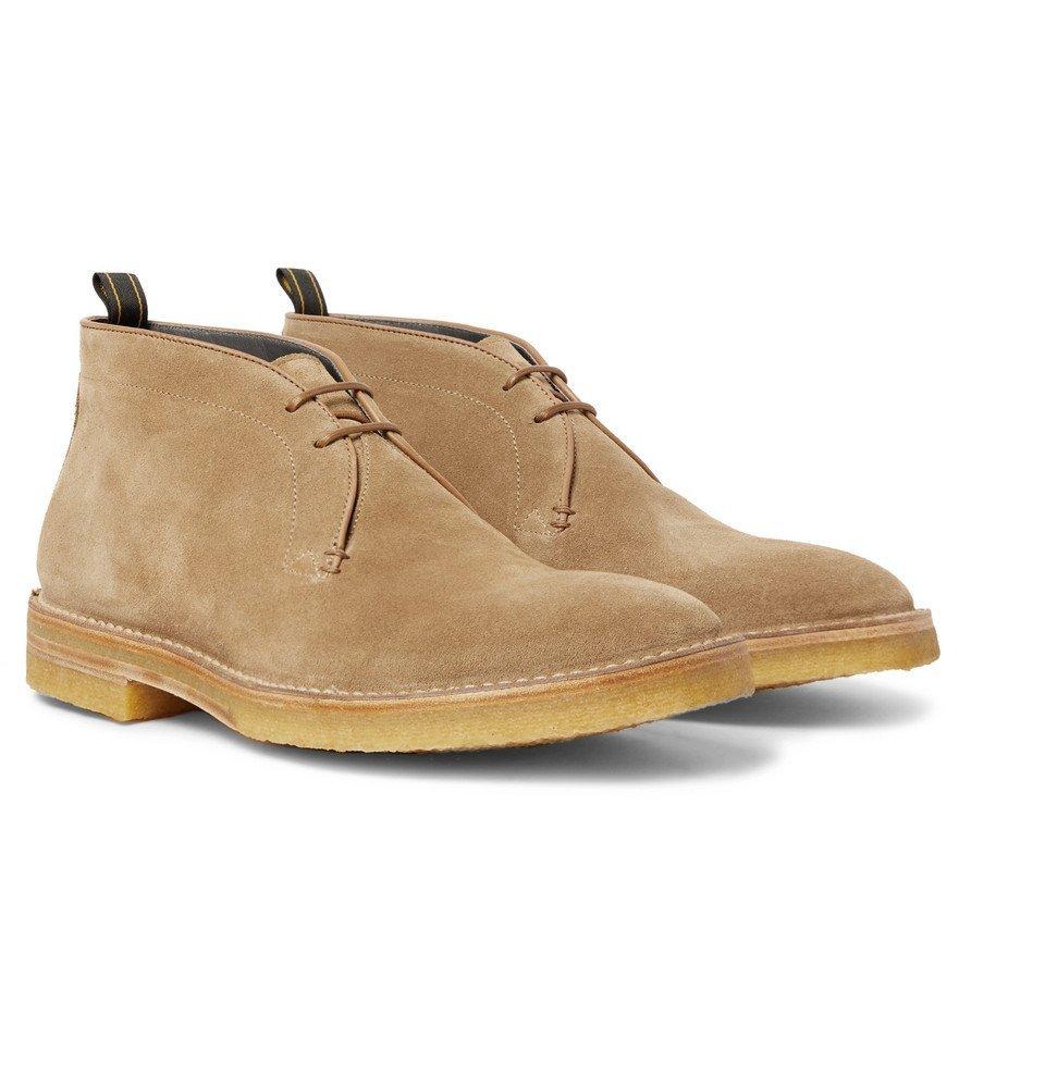 Dunhill - Suede Chukka Boots - Men - Beige