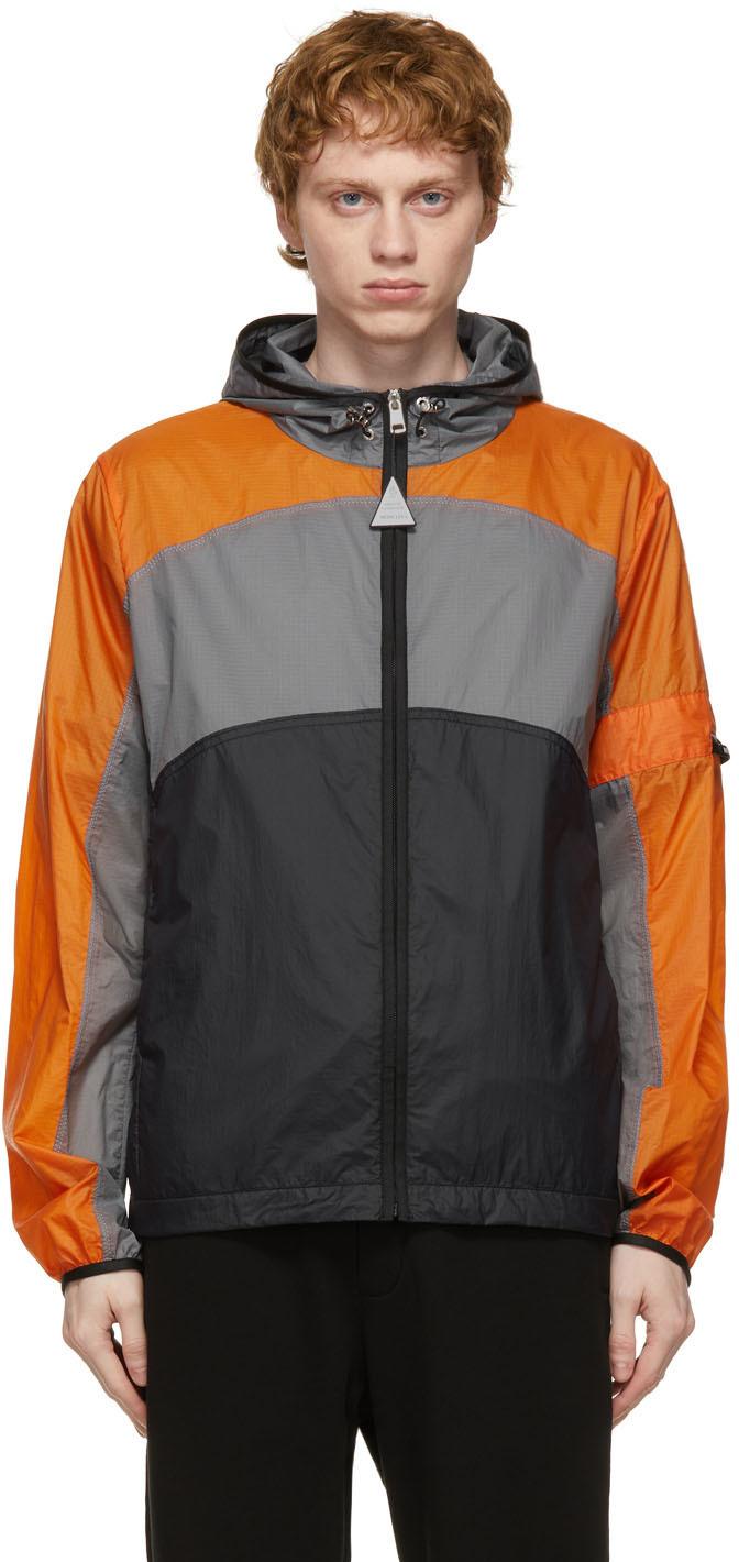 Photo: Moncler Genius 5 Moncler Craig Green Orange & Grey Clonophis Jacket