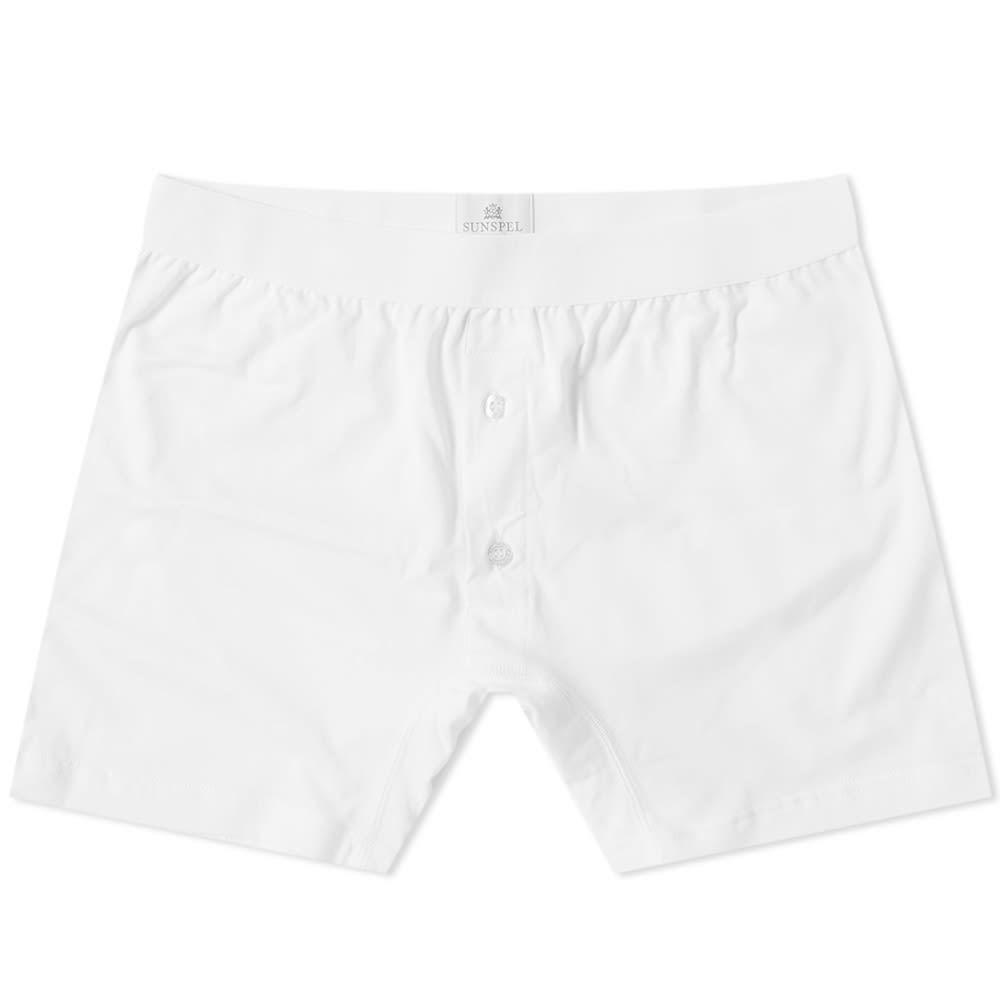 Sunspel Superfine 2 Button Boxer Short