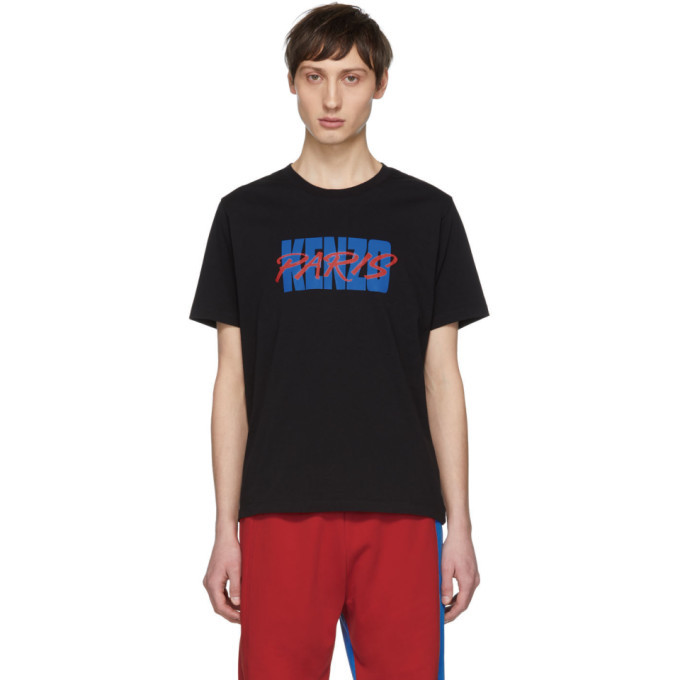 Photo: Kenzo Black Logo T-Shirt