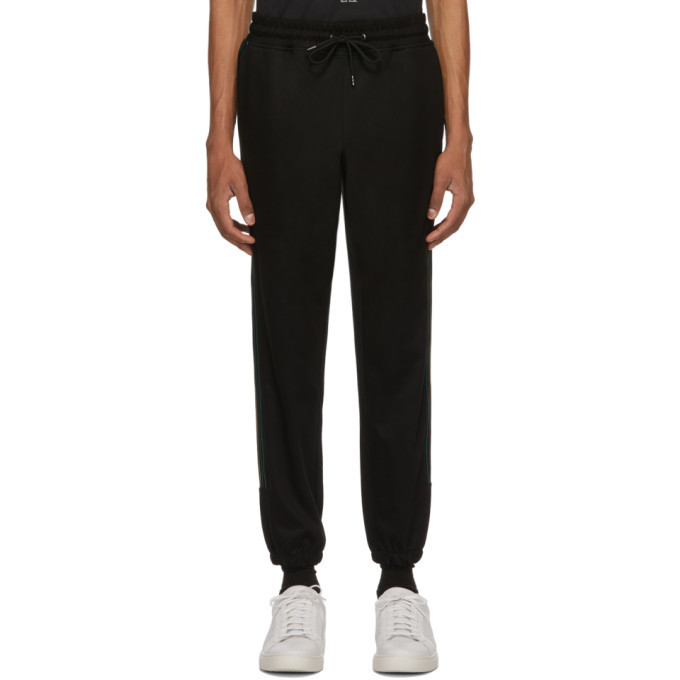 Photo: PS by Paul Smith Black Jogger Lounge Pants