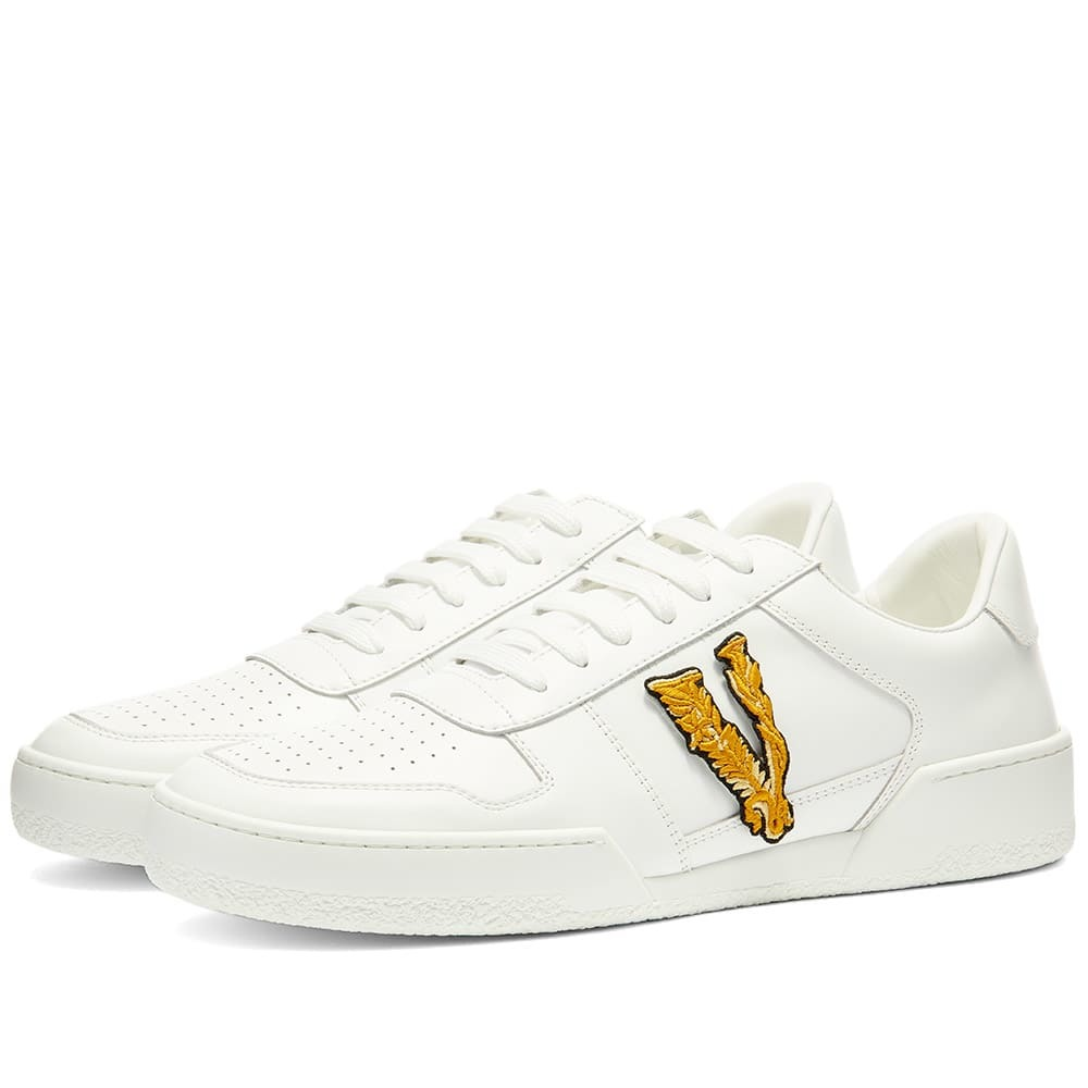 Photo: Versace Applique Tennis Sneaker