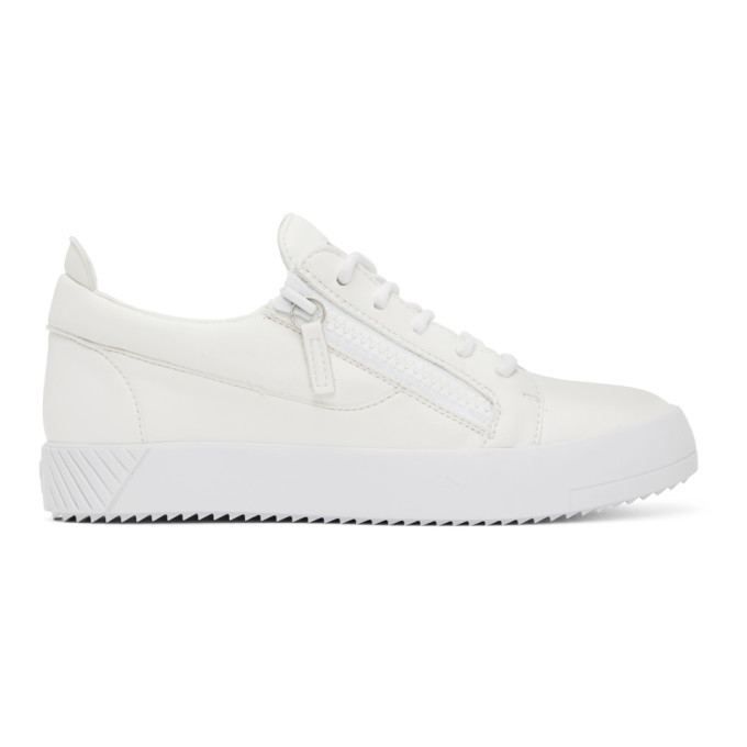 Photo: Giuseppe Zanotti White May Traze Sneakers