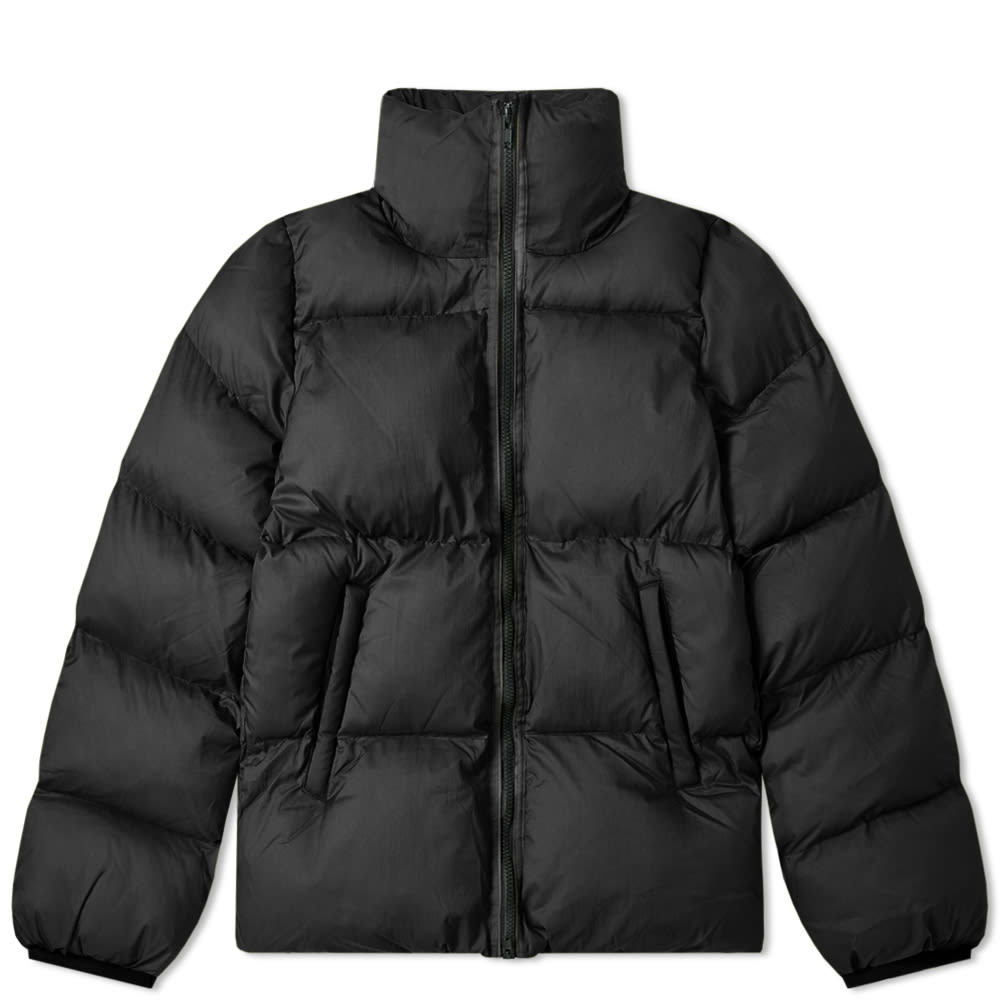 Photo: MKI Nylon Short Bubble Jacket Black