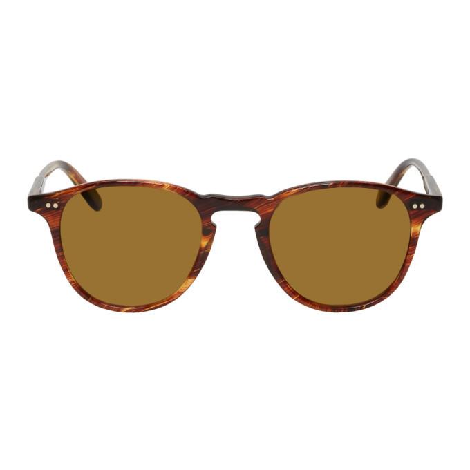 Photo: Garrett Leight Brown Hampton Sunglasses