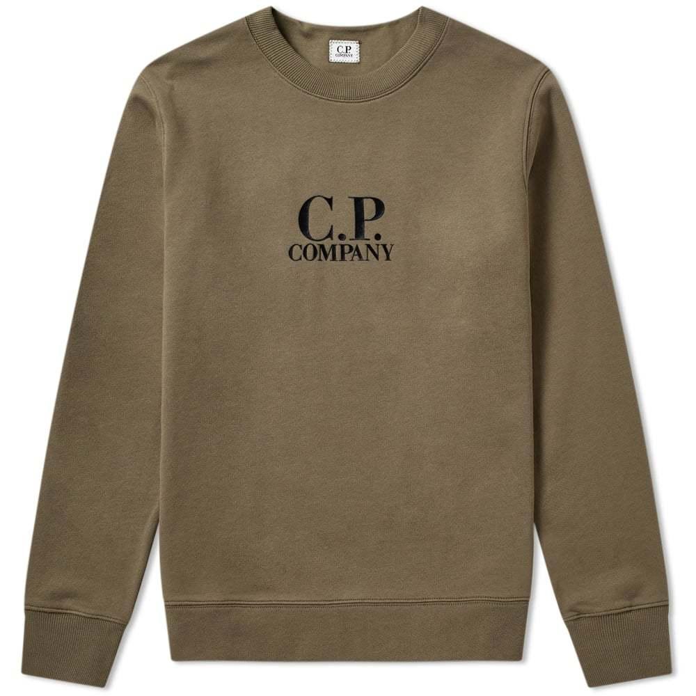 C.P. Company Heavyweight Logo Crew Sweat