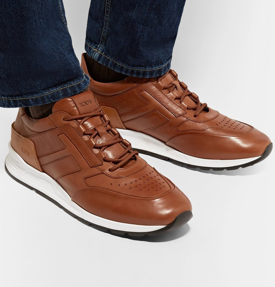 Tod's - Sportivo Leather Sneakers - Men - Brown