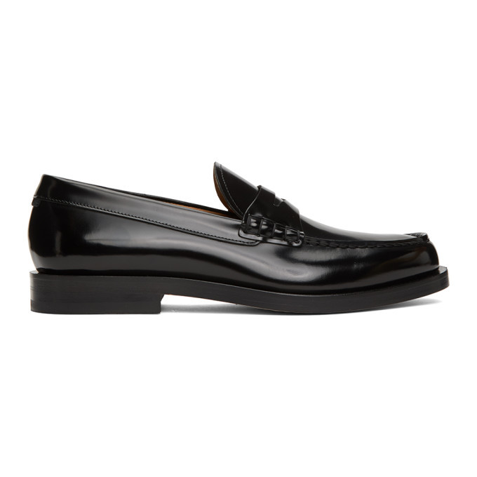 Photo: Boss Black Patent Leather Loafers