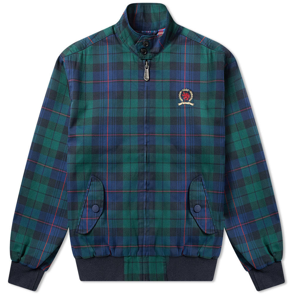 Photo: Tommy Jeans 6.0 Plaid Crest Harrington Jacket M5