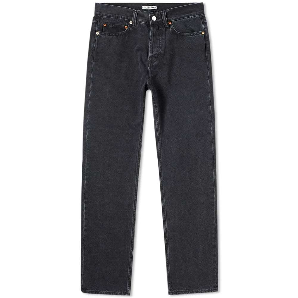 Photo: Our Legacy First Cut Jean Black