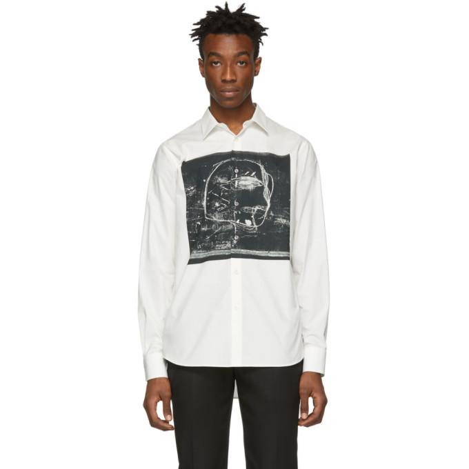Photo: Alexander McQueen White and Black Print Shirt