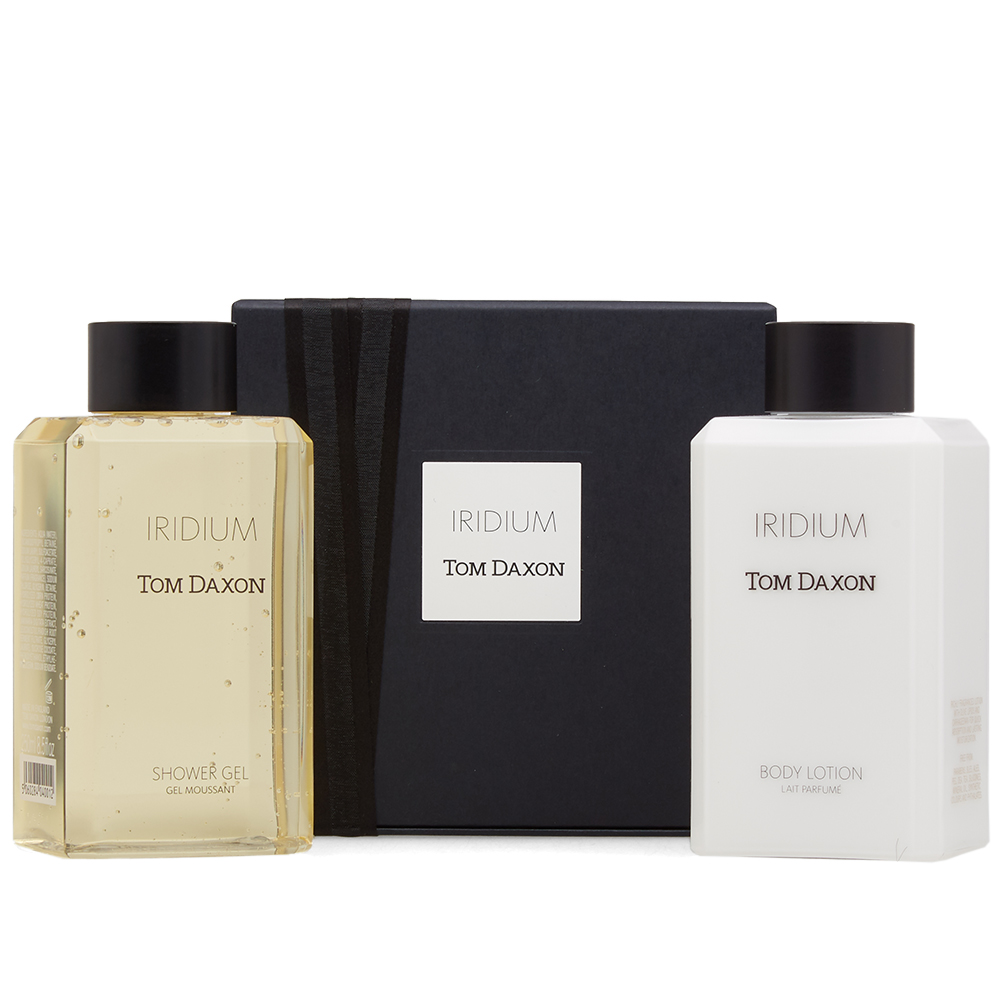 Photo: Tom Daxon Iridium Bodycare Set