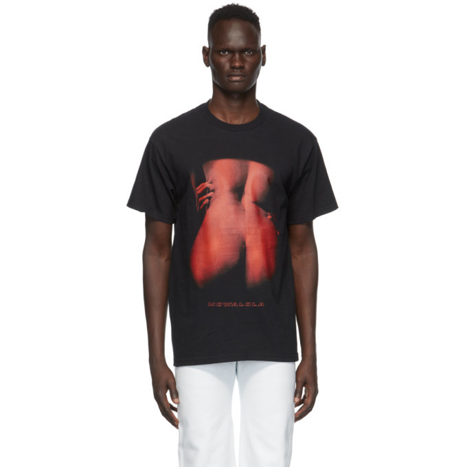 Photo: Mowalola Black Heat T-Shirt
